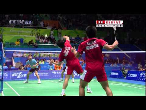 16th Asian Games MAS KOO Kien Keat TAN Boon Heong VS INA AHSAN Mohammad CHANDRA Alvent Yuliantu