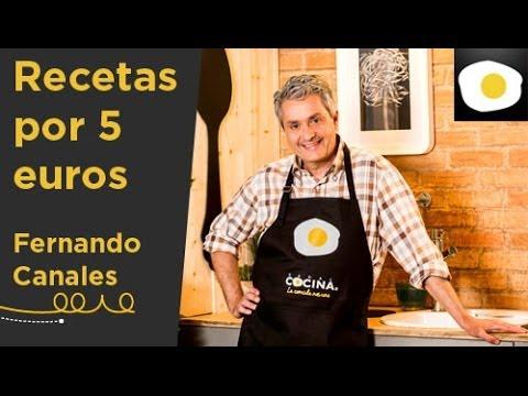 Descubre recetas por 5 euros con fernando canales canal - Cocinas por 2000 euros ...