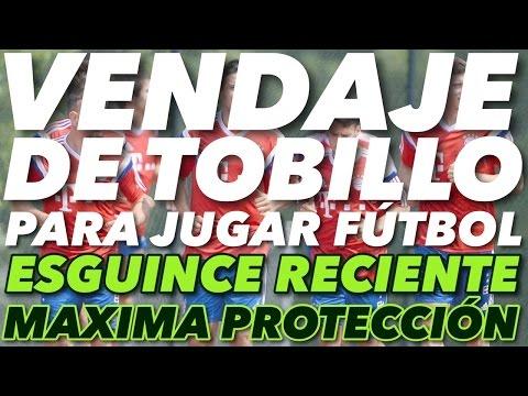 Vendaje de Tobillo para jugar Fútbol | ESGUINCE RECIENTE |