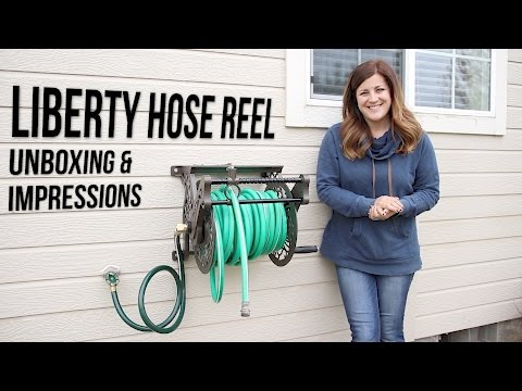 Liberty Hose Reel Unboxing & Impressions // Garden Answer