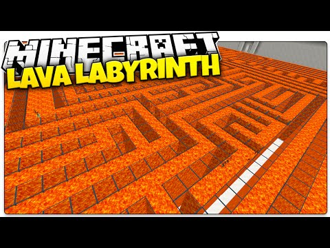 Minecraft | LAVA LABYRINTH | Diversity w/ TrueMU (Minecraft Custom Map)