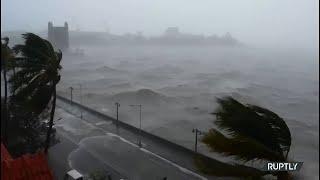 <span class='as_h2'><a href='https://webtv.eklogika.gr/' target='_blank' title='Τεράστια κύματα και ισχυροί άνεμοι έπληξαν τη Βομβάη καθώς ο κυκλώνας Tauktae χτυπάει την πόλη'>Τεράστια κύματα και ισχυροί άνεμοι έπληξαν τη Βομβάη καθώς ο κυκλώνας Tauktae χτυπάει την πόλη</a></span>