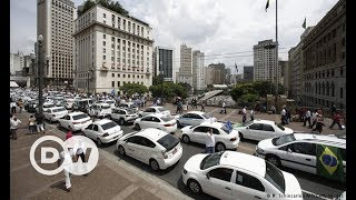 Brezilya'da Uber işsizliğe çözüm oldu - DW Türkçe