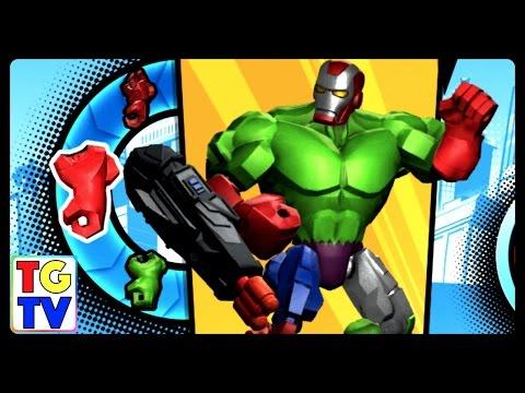 super hero mashers game