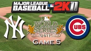 MLB 2K11: World Series Game 5 - Cubs Franchise