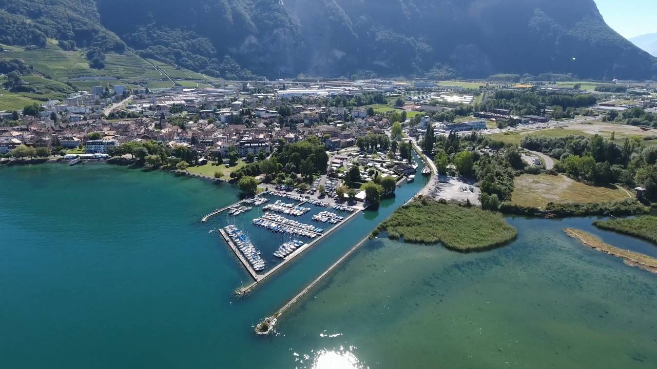 Villeneuve Lac Léman Ultra Hd 4k Youtube