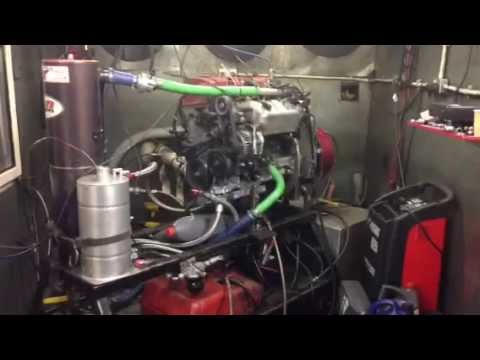 AT Power Honda K20 Integrated Dry Sump System Dyno test