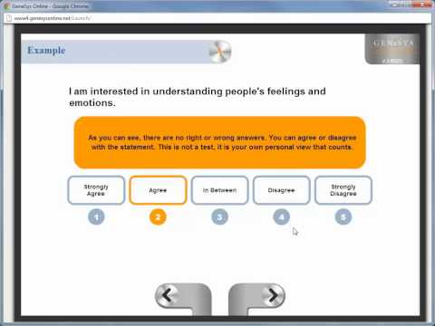 Psytech GeneSys Online Tutorial Unit 3.1 Administering tests & Supervised Administration