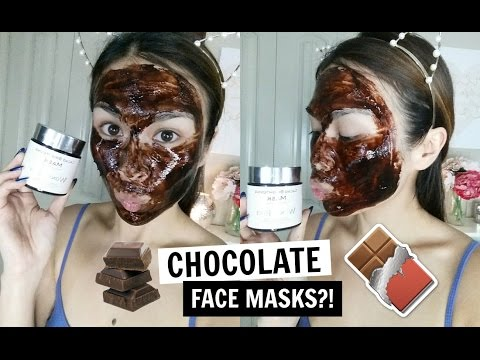 Korean Chocolate Face Mask?! ⎟ Real Cacao Brightening Mask First Impression & Demo