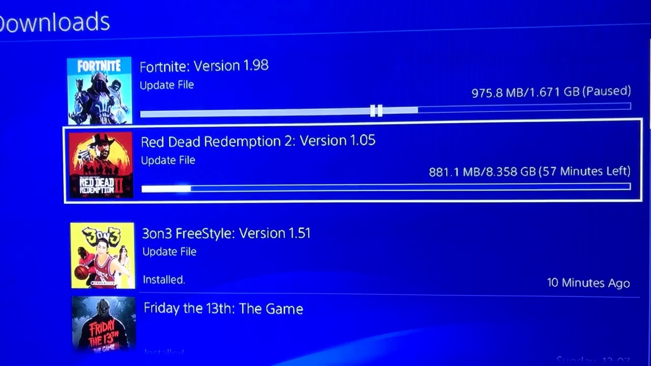 How to i fix ( copying application) in ps4    someone help me ??