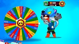WHEEL SPIN + SHOWDOWN in BrawlStars!