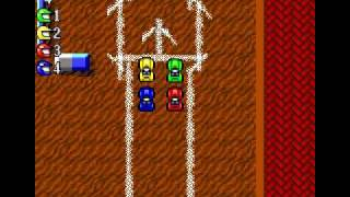 DOS Game: Micro Machines