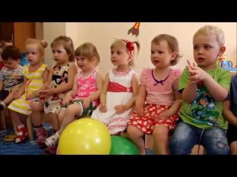 """Частный детский сад""""В гостях у Солнышка"""" День рождения Леры"""