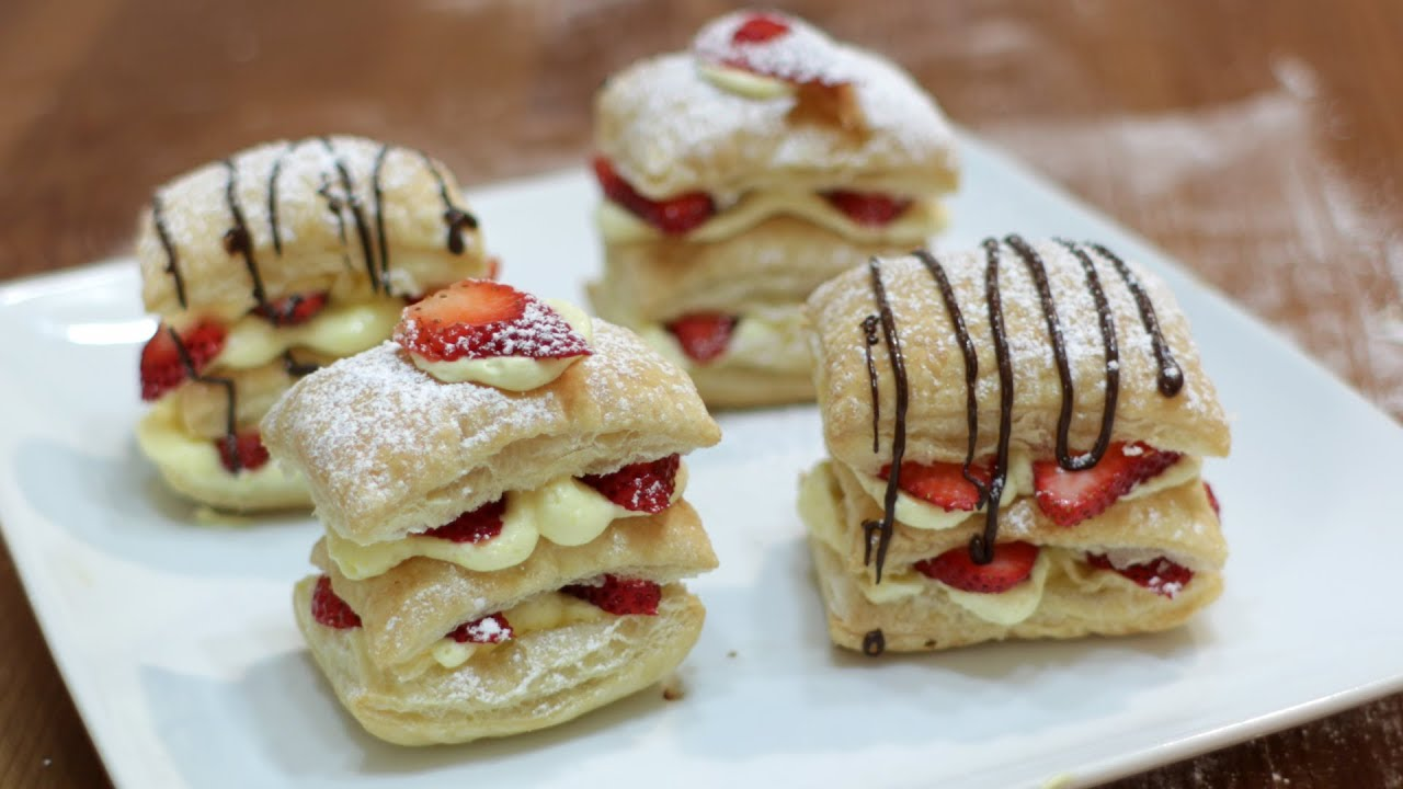 How To Make Napoleon Easy Strawberry Napoleon Puff Pastry Youtube,Corn Snakes For Sale