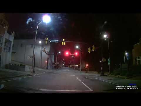 Kenwood DRV-320 Dash Cam Real Footage Video Quality (Night) Dashcam