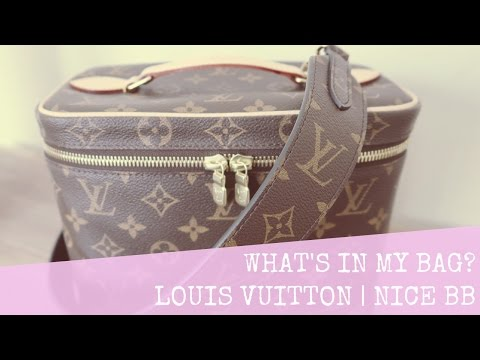What's In My Bag Wednesday | Louis Vuitton | Nice BB | LalaLV