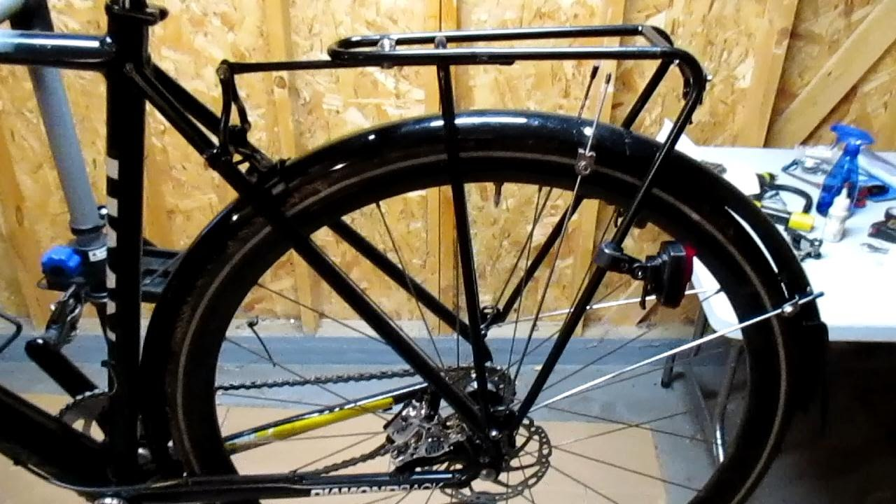 Tubus Fly Pannier Rack First Impressions Commuter Bike