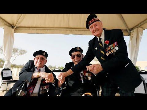 محاربون بريطانيون قدامى يعودون إلى مصر لاسترجاع ذكرى معركة العلمين…  - نشر قبل 58 دقيقة