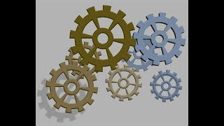 How to make 3D Cogwheel - Corel Draw X7