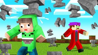 DODGE The 1000KG ANVILS To SURVIVE! (Minecraft)