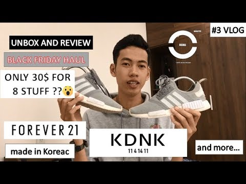 #3 BLACK FRIDAY bạn mua gì ? | Unbox and review F21 , KDNK , O.G Clothing, and more...