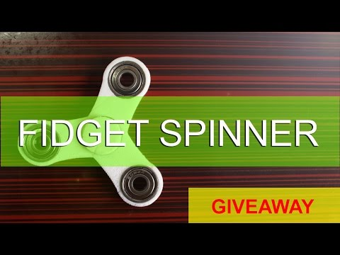 How To Make A Fidget Spinner Toy  || DIY 3D Printed Fidget Spinner Toy