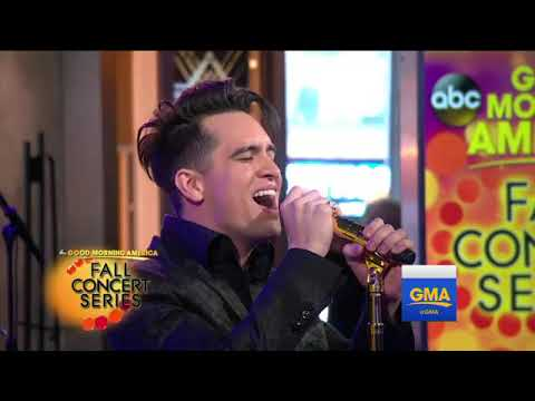 Panic! at the Disco Performs 'Death of a Bachelor' on GMA