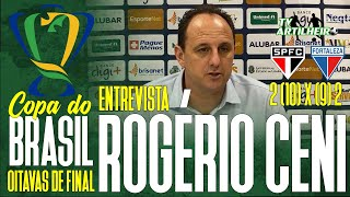 [Copa BR '20] Entrevista Rogério Ceni | Pós-jogo São Paulo 2 (10) X (9) 2 Fortaleza