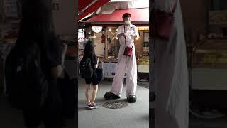 강동둔촌역 전통시장 행사 키다리 삐에로