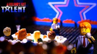 nick nicolai verplettert jury met talent hollands got talent lego versie