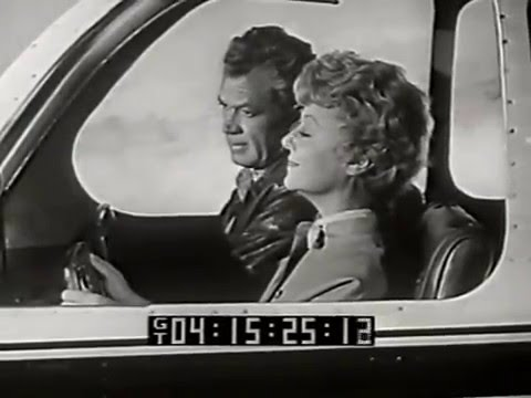 Janet Gaynor, Bill Williams--1959 TV Drama, Ronald Reagan