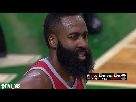 """Cedric Maxwell hilarious call of Celtics-Rockets: """"Take that with your beard!"""" (12/28/2017)"""