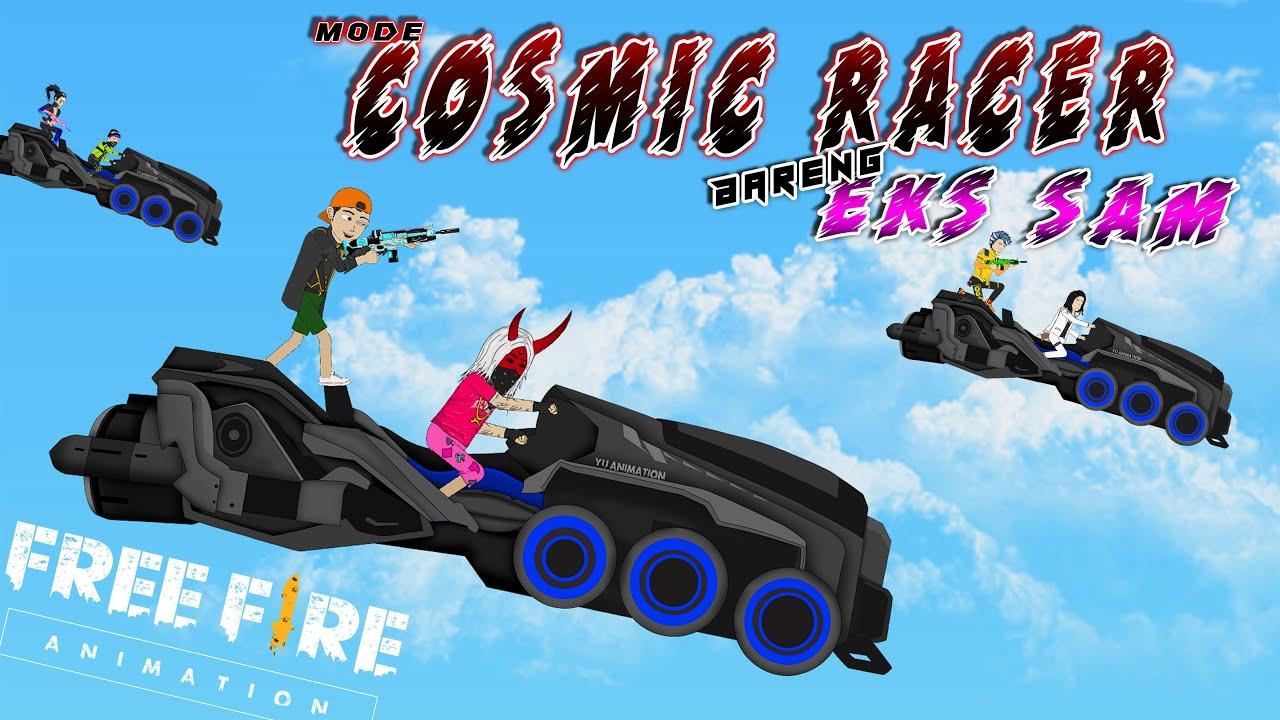 Free Fire Animation - Copotin Kepala Musuh di Mode Cosmic Racer Bareng @Eks Sam  - YU ANIMATION