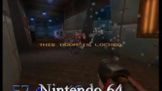 Quake II PS1 vs N64 Comparison (Version 2)