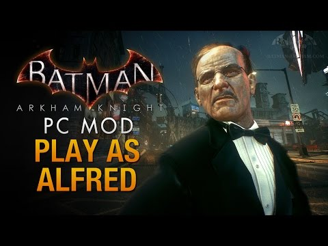 Batman: Arkham Knight - Play as Alfred (Be the Butler)