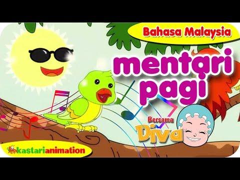MENTARI PAGI | Nyanyian Anak Islam Bahasa Malaysia Bersama Diva | Kastari Animation Official