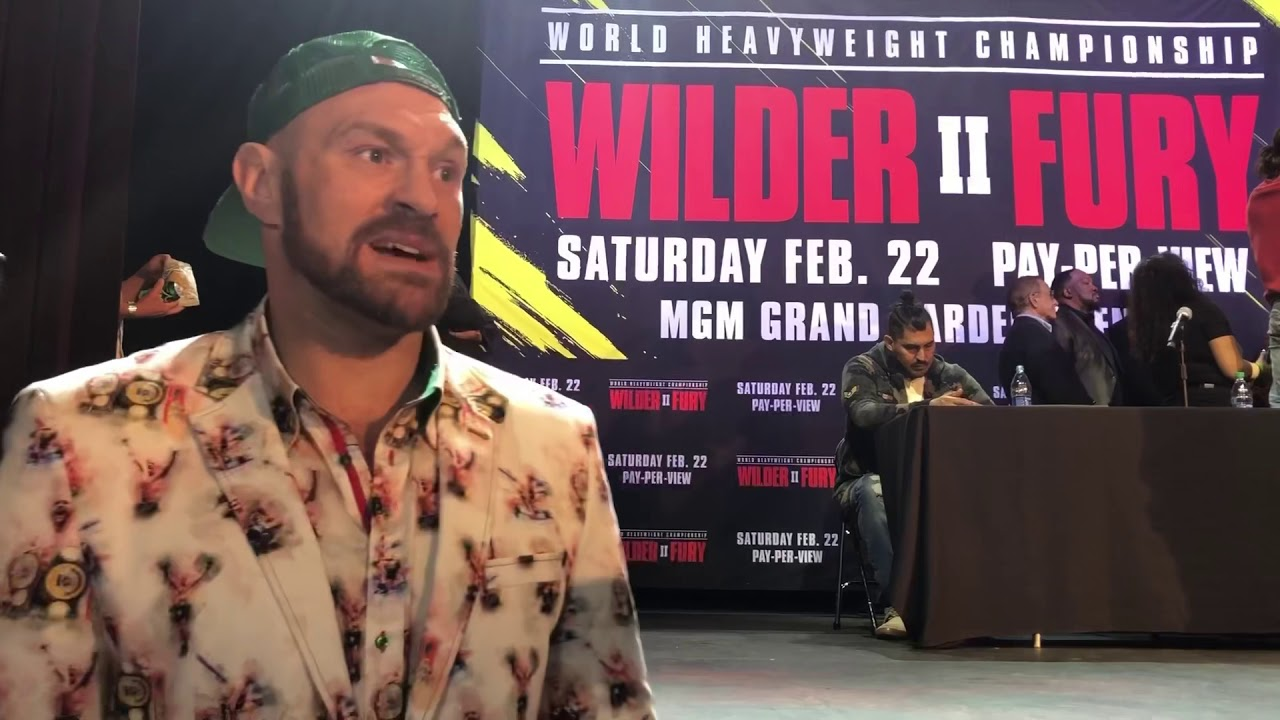Tyson Fury 'masturbating seven times a day' and now 'doing a lot of ...