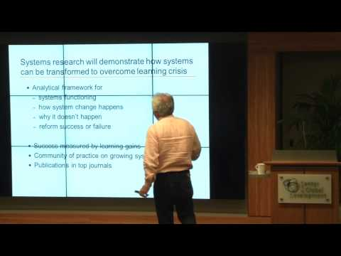 RISE: Research on Improving Systems of Education – Information meeting for bidders