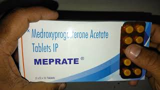 MEPRATE Tablets review Treatment of Endometriosis,Abnormal Uterine Bleeding & Amenorrhoea
