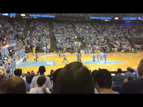 UNC Basketball- Late Night with Roy
