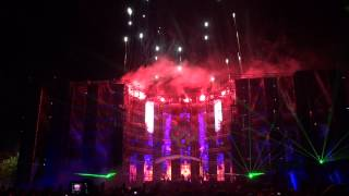 Summer Festival 2012 Endshow ( Part 3 ) @ Hard Style Outdoor Full HD 1080p
