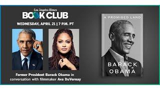 Virtual Community Book Club with Former President Barack Obama