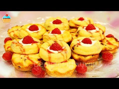 Рецепт Тарталетки с лимонным кремом и меренгой