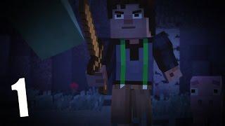 Прохождение Minecraft Story Mode 1 - Спасаем друга