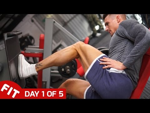 LEG WORKOUT - ROSS DICKERSON DAY 1 OF HIS 5-DAY SPLIT