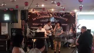 Tan Tác - Hồng Cúc - Ca Nhạc & Khiêu Vũ 29/05/2016 Comptoir Beaubourg Live