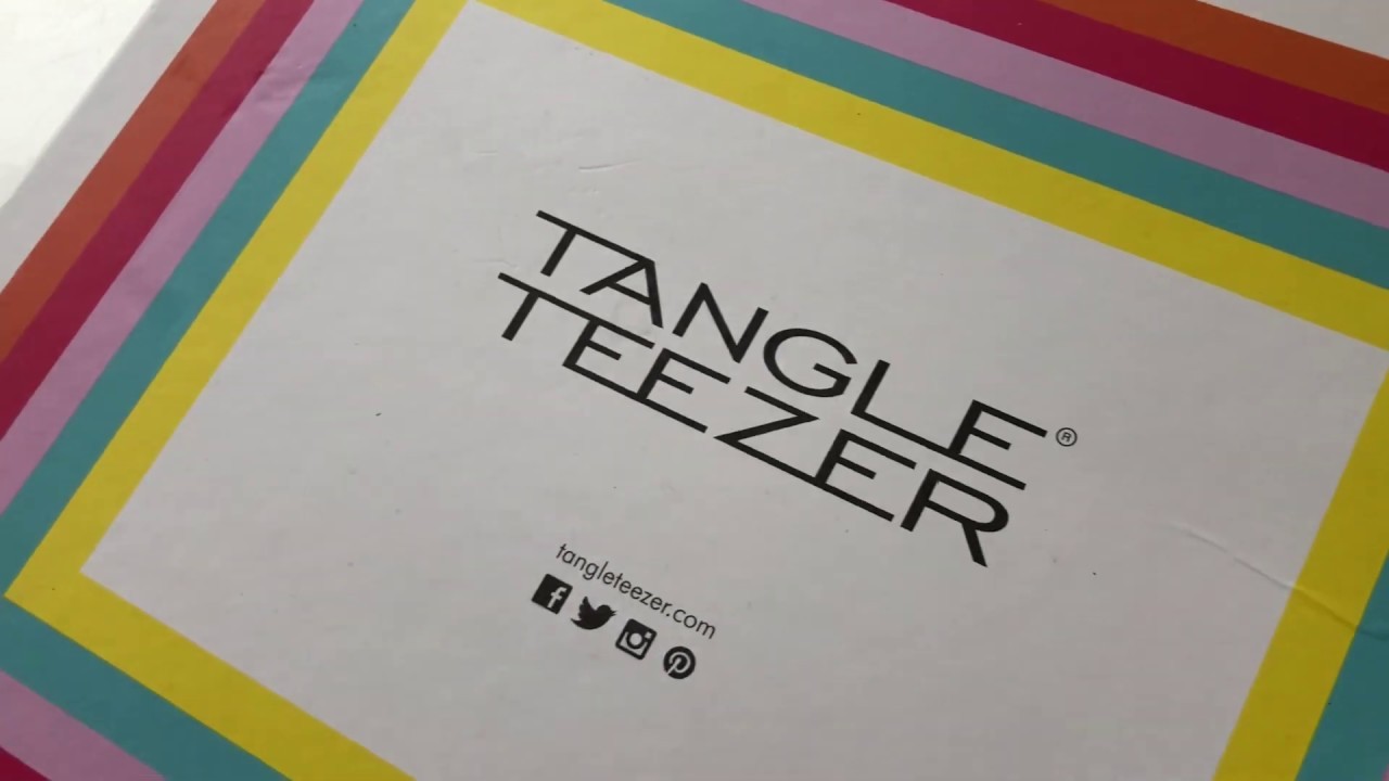 Tangle Teezer Campaign- Tilly Lockey