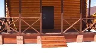 Строительство из оцилиндрованного бревна в Красноярске 2 885 105(Строительство домов, бань из оцилиндрованного бревна в Красноярске. Частные дома под ключ Тел 8-953-588-5105...., 2015-01-21T11:52:55.000Z)