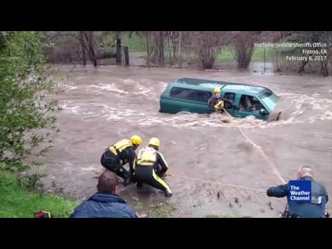 Swift Water Rescue in Fresno, California | firefighting