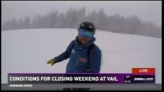 First Chair 9News 04.21.17 Good Morning Vail